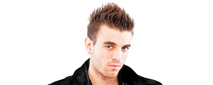 Причёска волосы вверх мужская
