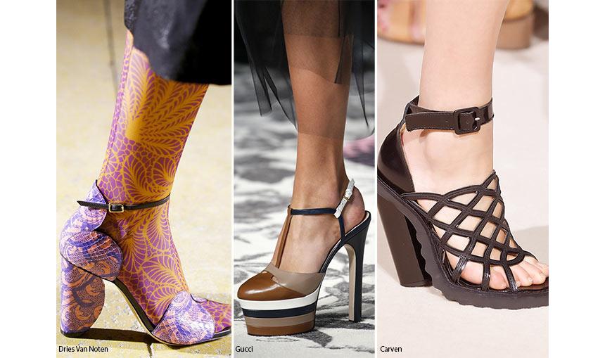 Мода женская обувь лето 2017 женская