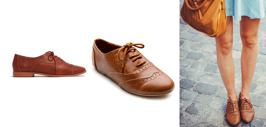 оксфорды женская обувь фото