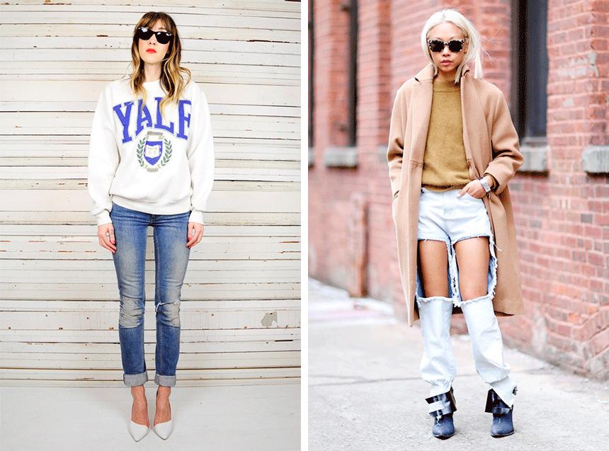 Тёлки в джинсах и на каблуках 8 фотография