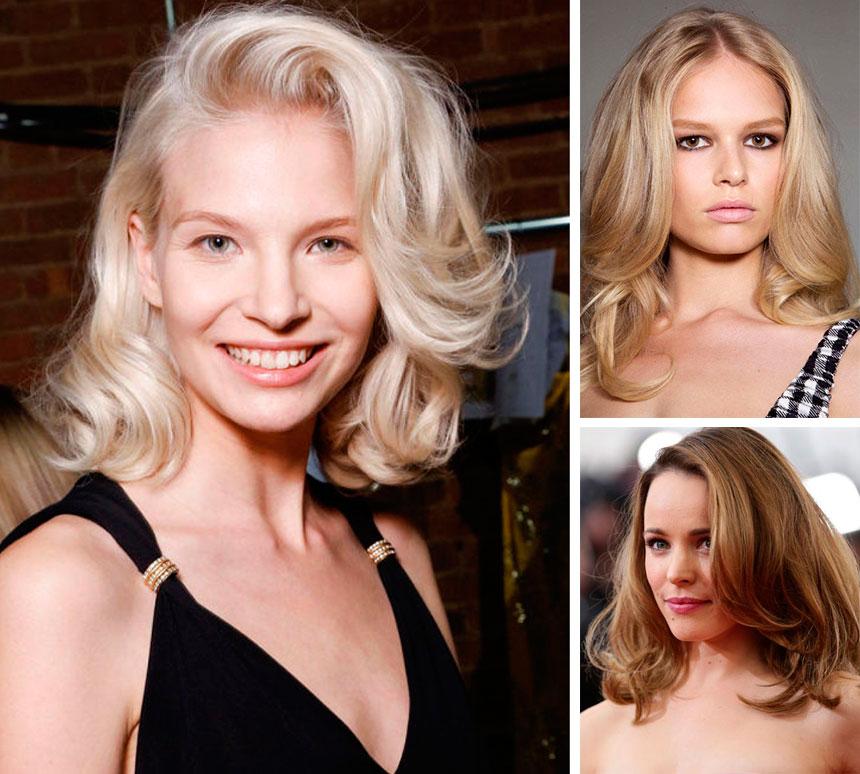 Как сделать укладки для средних волос фото