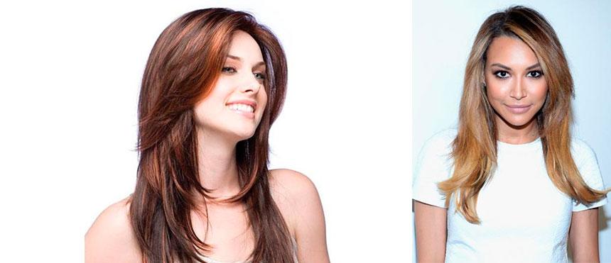 Укладка прямые на длинные волосы фото